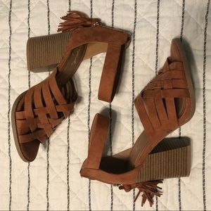 Qupid Day Off Heeled Sandals
